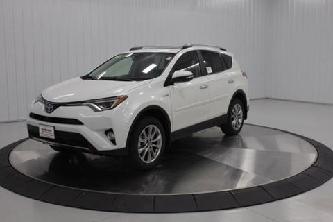 2018 Toyota RAV4 Hybrid for sale in Mason City, IA