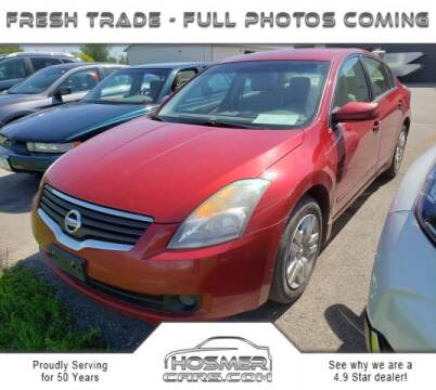 2009 Nissan Altima 2.5 S for sale at Hosmercars in Mason City IA