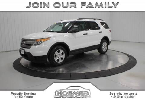 2013 Ford Explorer for sale at Hosmercars in Mason City IA