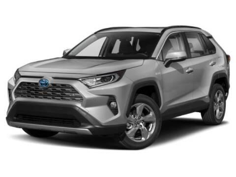 2020 Toyota RAV4 Hybrid XLE for sale at Hosmercars in Mason City IA