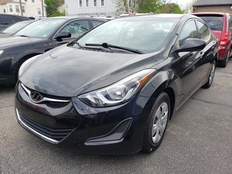 2016 Hyundai Elantra for sale in Providence, RI
