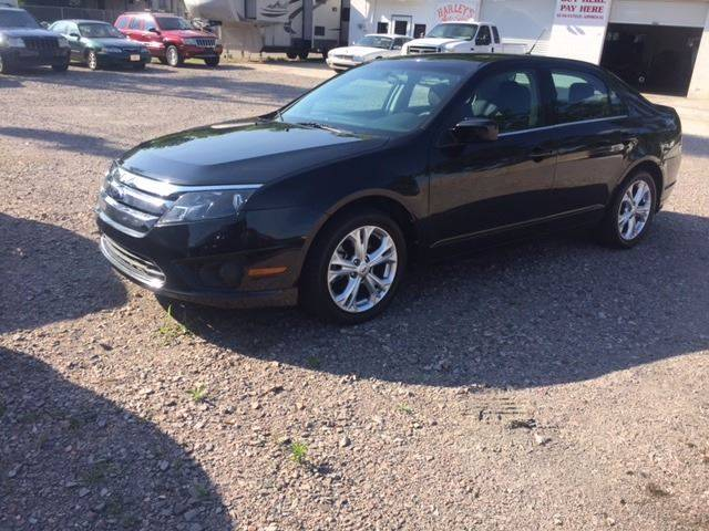 2012 FORD FUSION SE 4DR SEDAN black 2012 ford fusion extra clean loaded  must see exhaust - dual