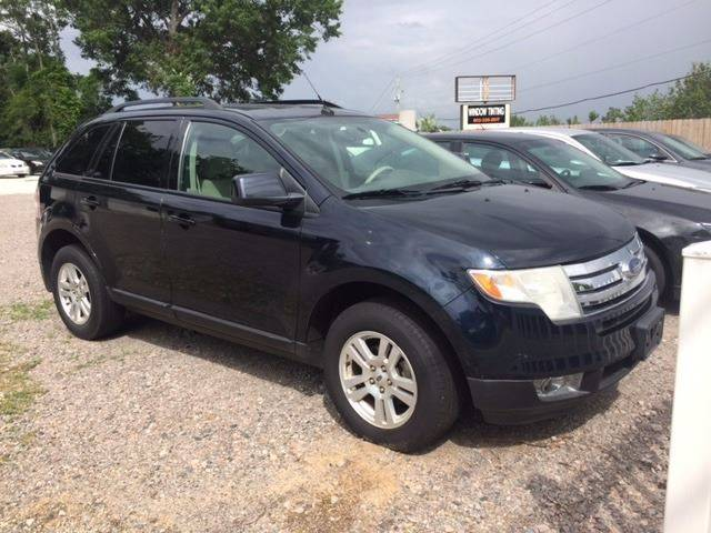 2008 FORD EDGE SEL 4DR SUV blue very clean ford edge sel loaded leather navigation low mileage ex