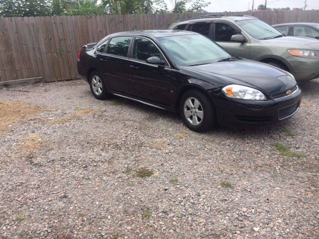2009 CHEVROLET IMPALA LT 4DR SEDAN black 2009 chevrolet impala lt only 82k miles exhaust tip colo