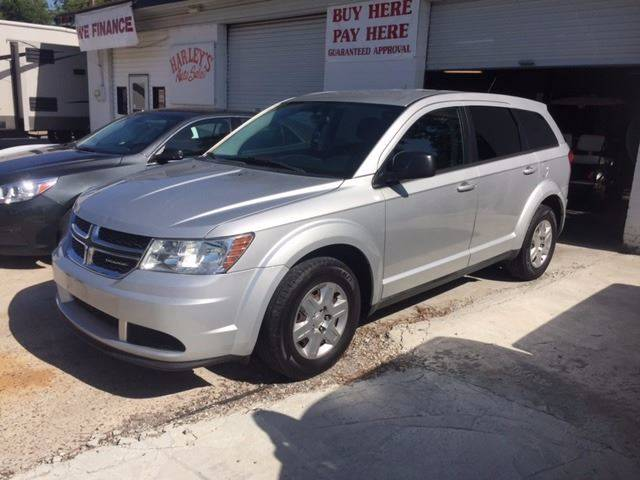 2012 DODGE JOURNEY SE 4DR SUV silver nice suv 3rd row very clean  we finance door handle color -