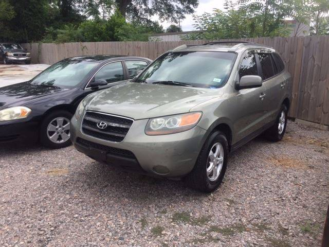 2007 HYUNDAI SANTA FE GLS 4DR SUV green nice affordable clean suv great gas mileage armrests - re