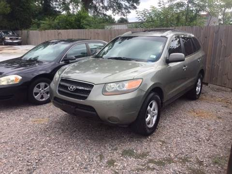 2007 Hyundai Santa Fe for sale at Harley's Auto Sales in North Augusta SC