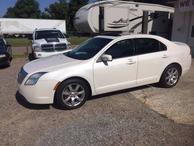 2010 MERCURY MILAN I 4 PREMIER 4DR SEDAN white 2010 mercury milan premier loaded leather sunroof