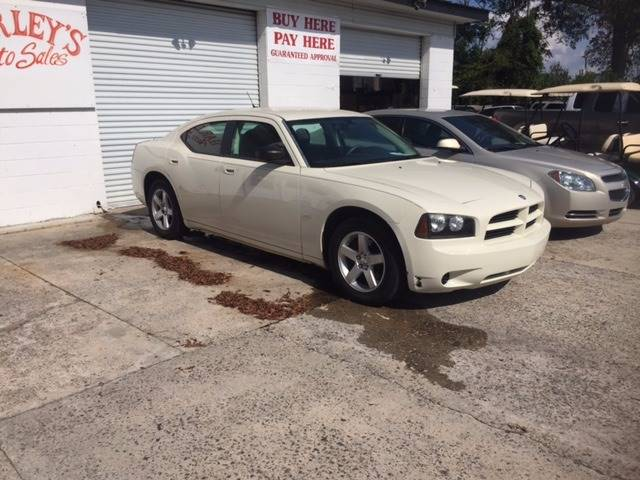 2008 DODGE CHARGER BASE 4DR SEDAN cream 2008 dodge charger nice clean car we finance floor mats -
