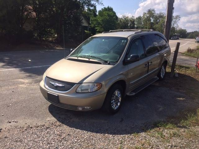 2003 CHRYSLER TOWN AND COUNTRY LIMITED 4DR EXTENDED MINI VAN tan extra clean low miles leather fu