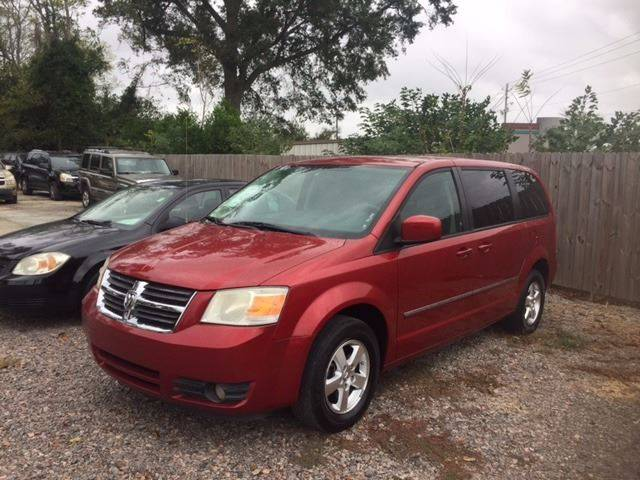 2008 DODGE GRAND CARAVAN SXT EXTENDED MINI VAN 4DR burgundy 2008 dodge grand caravan very nice cl
