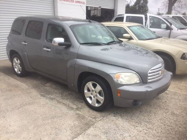2007 CHEVROLET HHR LT 4DR WAGON gray nice gas saver extra clean we finance grille color - chrome
