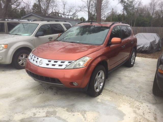2004 NISSAN MURANO SL AWD 4DR SUV gold nice suv loaded leather we finance rear spoiler front air