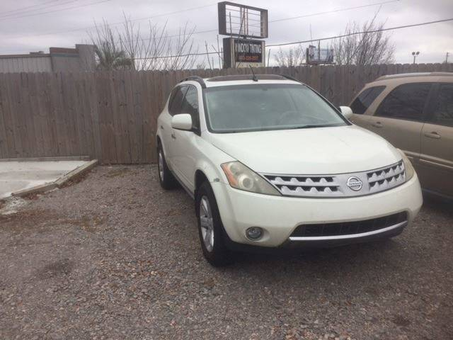 2006 NISSAN MURANO SL 4DR SUV white nice clean suv loaded we finance grille color - chrome rear