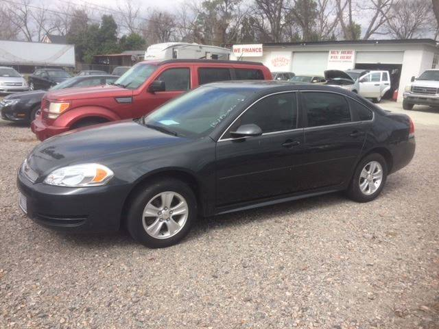 2012 CHEVROLET IMPALA LS 4DR SEDAN charcoal very nice low mileage impala we finance body side mol