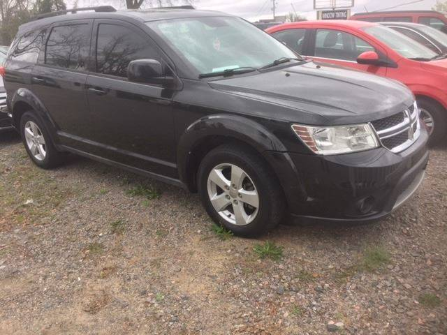 2012 DODGE JOURNEY SXT 4DR SUV black nice very clean suv  we finance exhaust - dual tip door han
