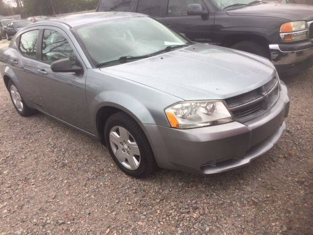 2008 DODGE AVENGER SE 4DR SEDAN blue 2008 avenger sxt only 64k miles very nice   we finance armre