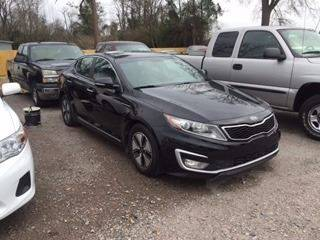 2012 KIA OPTIMA HYBRID LX 4DR SEDAN black 2012 kia optima hybrid black extra sharp exhaust - dual