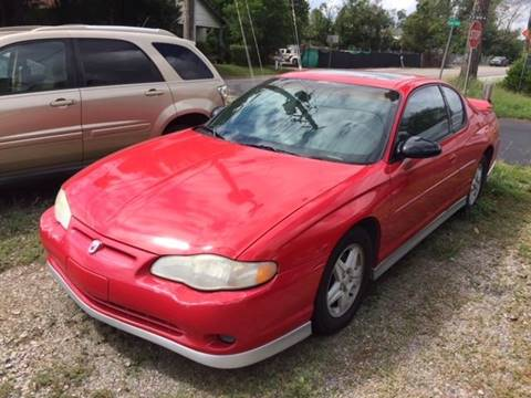 2002 Chevrolet Monte Carlo for sale at Harley's Auto Sales in North Augusta SC