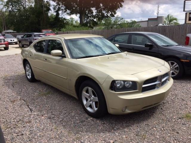2010 DODGE CHARGER SXT 4DR SEDAN champagne nice charger   we finance headlight bezel color - blac