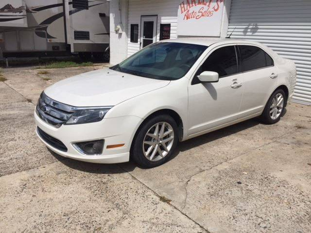 2012 FORD FUSION SEL 4DR SEDAN cream very nice fusion loaded   we finance exhaust - dual tip doo