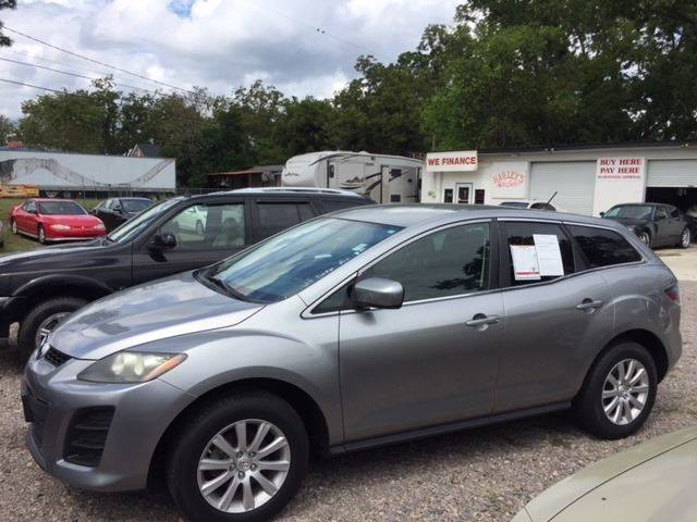 2010 MAZDA CX-7 I SPORT 4DR SUV silver extra clean suv just a nice vehicle   we finance rear spoi