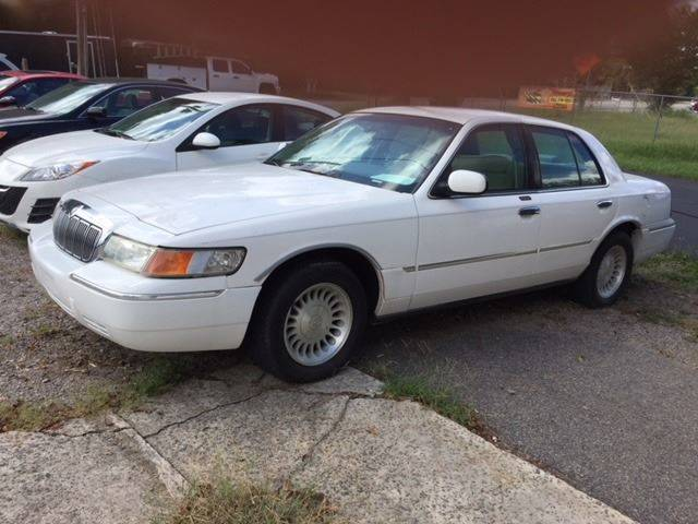 2000 MERCURY GRAND MARQUIS LS 4DR SEDAN white real clean vehicle with only 107