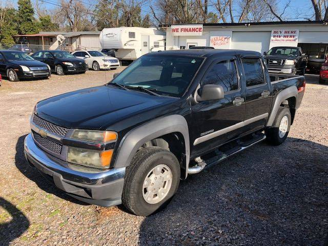 2005 CHEVROLET COLORADO Z71 LS 4DR CREW CAB RWD SB black nice clean 4dr truck  come check it out