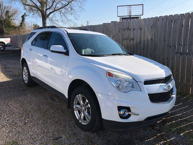 2011 CHEVROLET EQUINOX LT 4DR SUV W2LT white nice leather loaded   we finance 168569 miles VIN