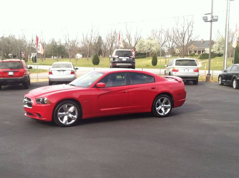 2011 DODGE CHARGER RT 4DR SEDAN red exhaust - dual tip headlight bezel color - black door hand