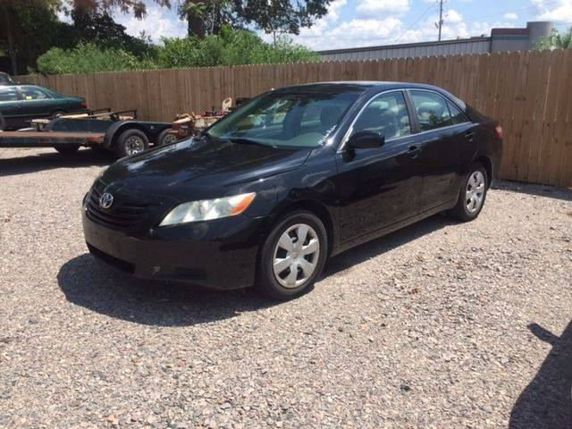 2007 TOYOTA CAMRY LE 4DR SEDAN 24L I4 5A black 2007 toyota camary black sharp air filtration