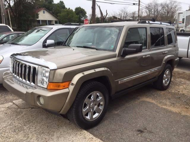 2006 JEEP COMMANDER LIMITED 4DR SUV titanium nice fully loaded grille color - chrome floor mat m