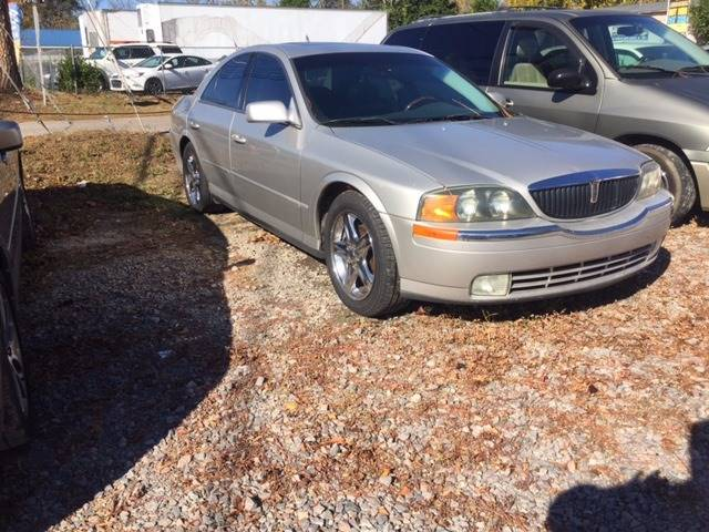 2002 LINCOLN LS BASE 4DR SEDAN V8 champagne we finance front air conditioning front air conditio