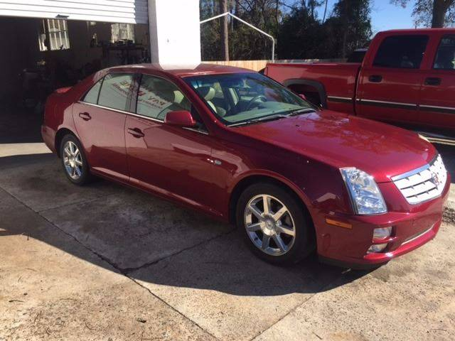 2005 CADILLAC STS BASE 46 4DR SEDAN burgundy nice sts leather loaded only 102k miles we finance