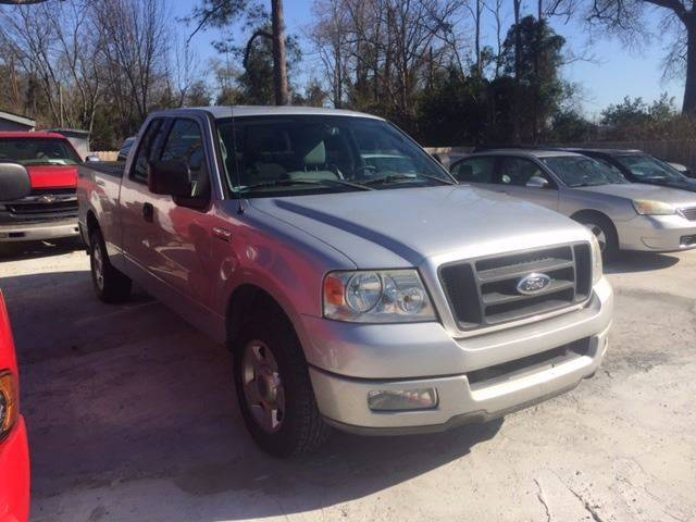 2004 FORD F-150 STX 4DR SUPERCAB RWD STYLESIDE 5 silver clean low mileagewe finance front air