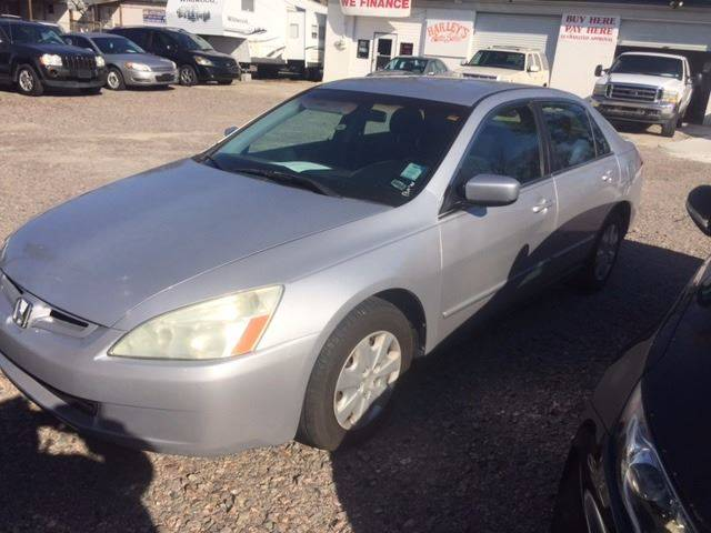 2003 HONDA ACCORD LX 4DR SEDAN silver clean low mileagewe finance front air conditioning ce