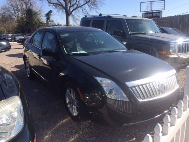 2010 MERCURY MILAN I-4 4DR SEDAN black clean low mileagewe finance exhaust - dual tip door h