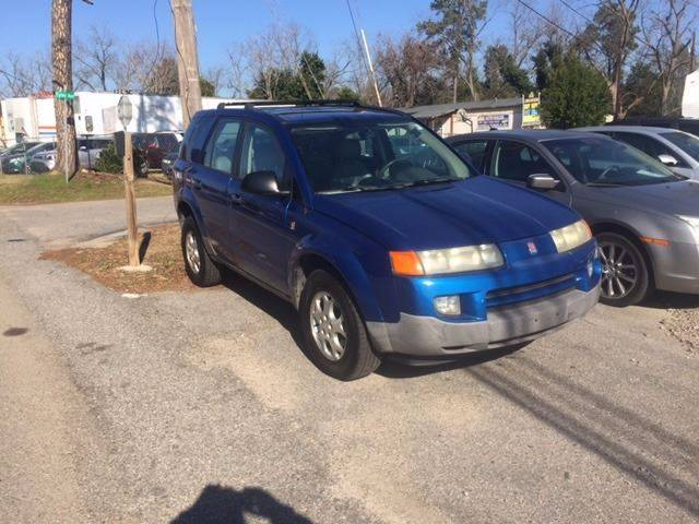 2003 SATURN VUE BASE FWD 4DR SUV V6 blue clean low mileagewe finance front air conditioning