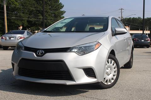 2014 Toyota Corolla for sale in Decatur GA