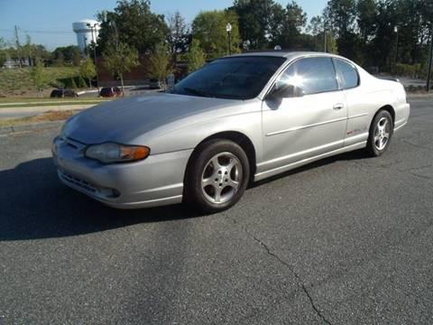 2002 Chevrolet Monte Carlo for sale in Lithia Springs, GA