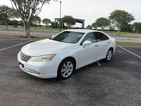 2007 lexus es 350 for sale houston tx. Black Bedroom Furniture Sets. Home Design Ideas
