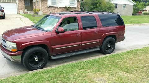 2003 Chevrolet Suburban For Sale In Oklahoma