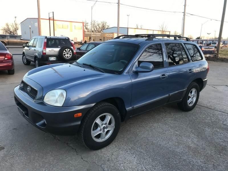 2002 Hyundai Santa Fe For Sale At Bixby Auto Exchange In Bixby OK