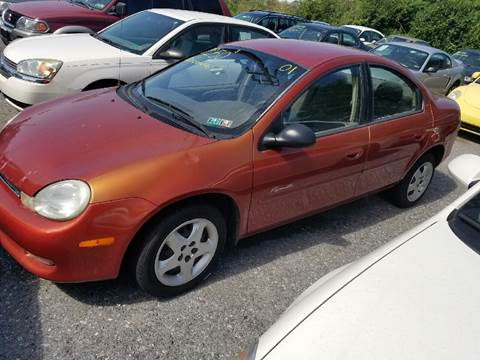 2001 Plymouth Neon for sale in Steelton, PA