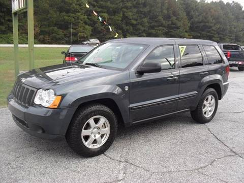 2008 Jeep Grand Cherokee for sale at Britton Automotive Group in Loganville GA