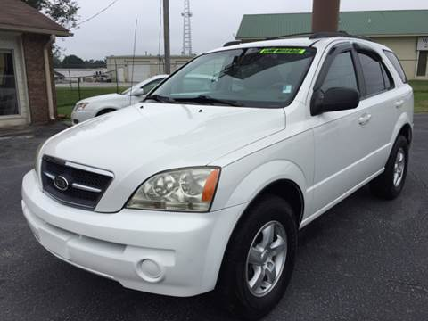 2006 Kia Sorento for sale at Britton Automotive Group in Loganville GA