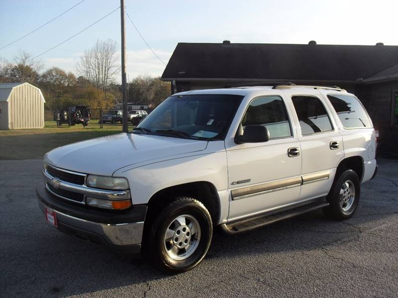 2002 Chevrolet Tahoe for sale at Britton Automotive Group in Loganville GA