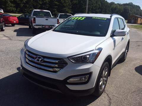 2014 Hyundai Santa Fe Sport for sale at Britton Automotive Group in Loganville GA