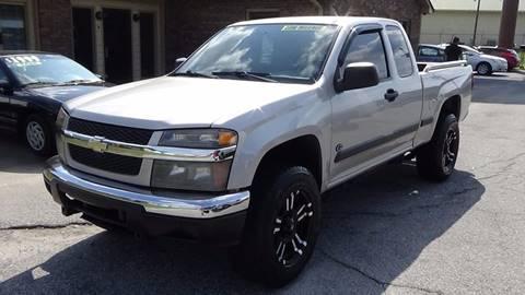 2007 Chevrolet Colorado for sale at Britton Automotive Group in Loganville GA