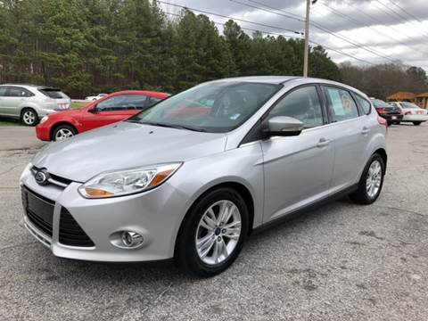 2012 Ford Focus for sale at Britton Automotive Group in Loganville GA